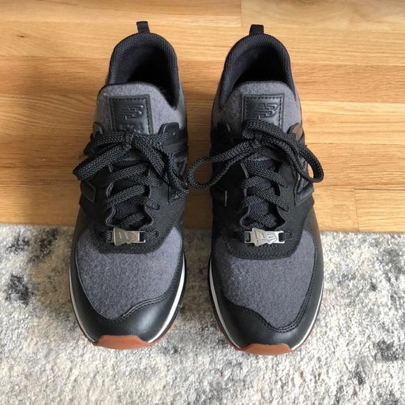 huge discount cf275 bd7ed 574 black and grey sport NB x New Era sneaker